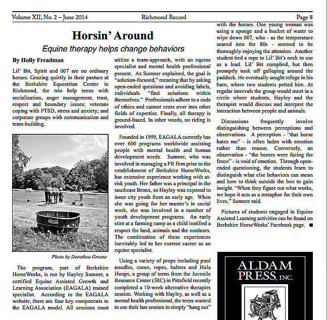 Horsin_Around_Richmond_Record_June_2014