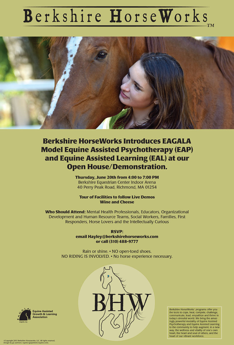 Berkshire HorseWorks June Open House Event