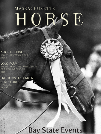 Cover of April/May Massachusetts Horse Magazine