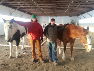 Equine assisted learning programs work for children, adolescents and adults