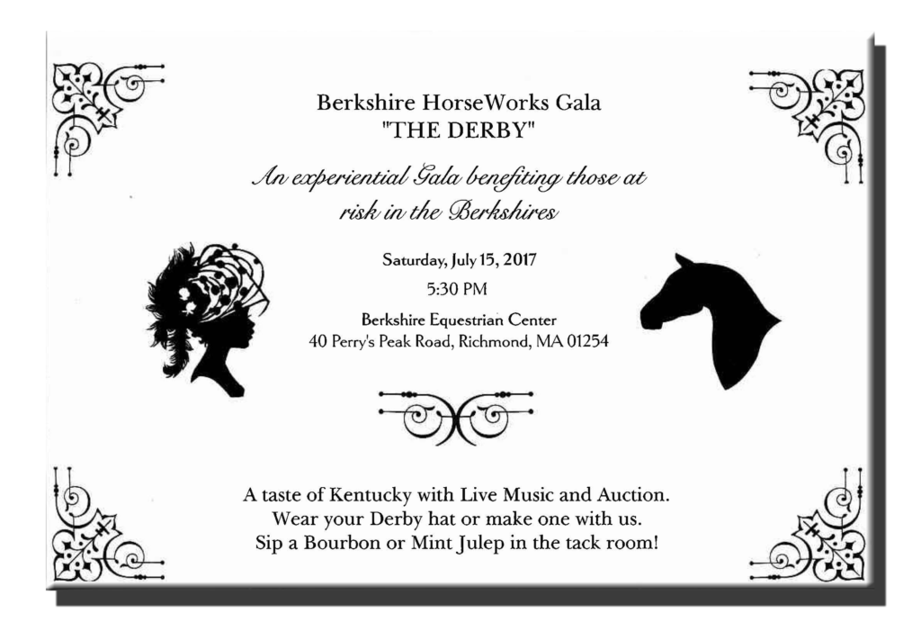 The Derby Gala Invite
